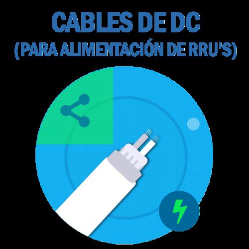 Cables de DC para alimentación de RRU's