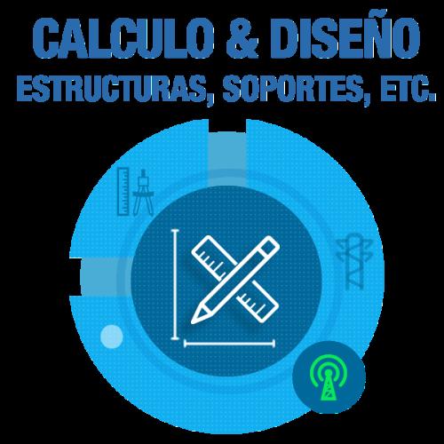 Cálculo y Diseño de Fundaciones, Estructuras y Soporte de Equipamiento