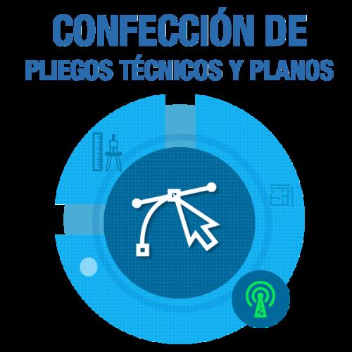 Confección de Pliegos Técnicos y Planos