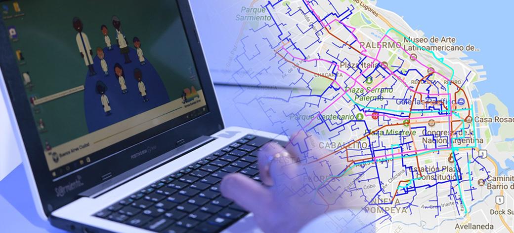 La Ciudad de Buenos Aires ya tiene su propia red de fibra óptica para conectar escuelas, hospitales y comisarías