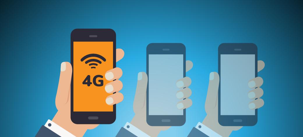 Una de cada tres líneas móviles ya es 4G en América latina